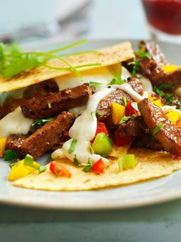 Quorn Mexican Quesadilla - meatless & soy-free  Click for recipe and ingredients!