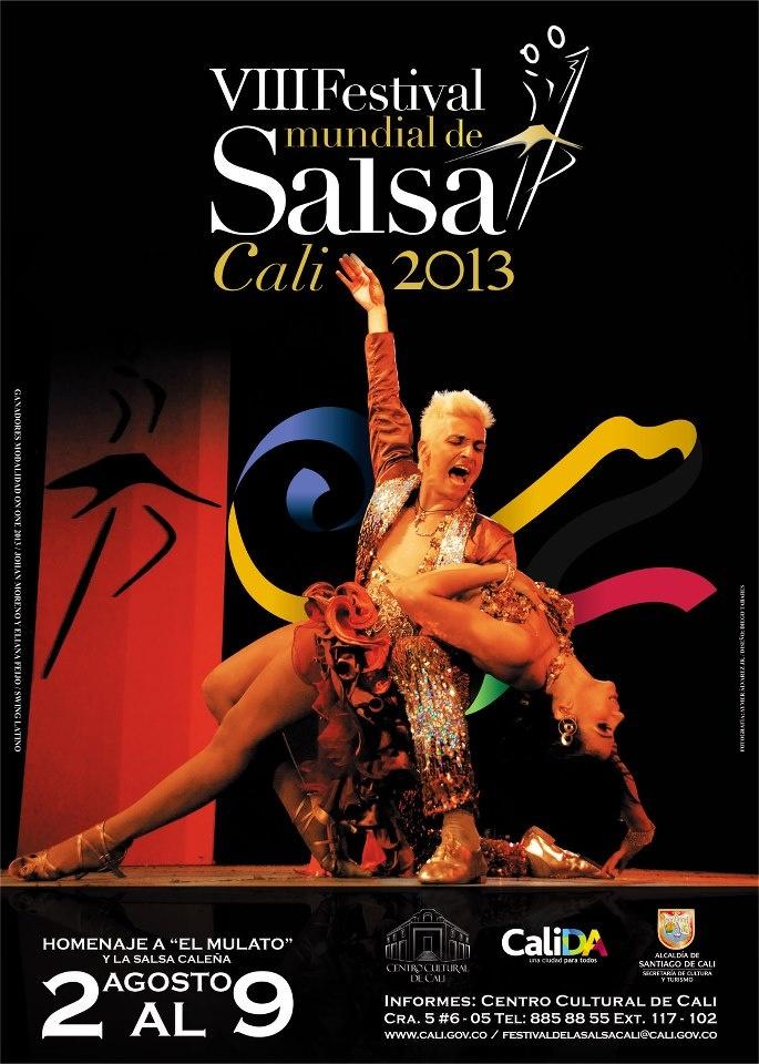 Poster Festival de Salsa Cali Colombia