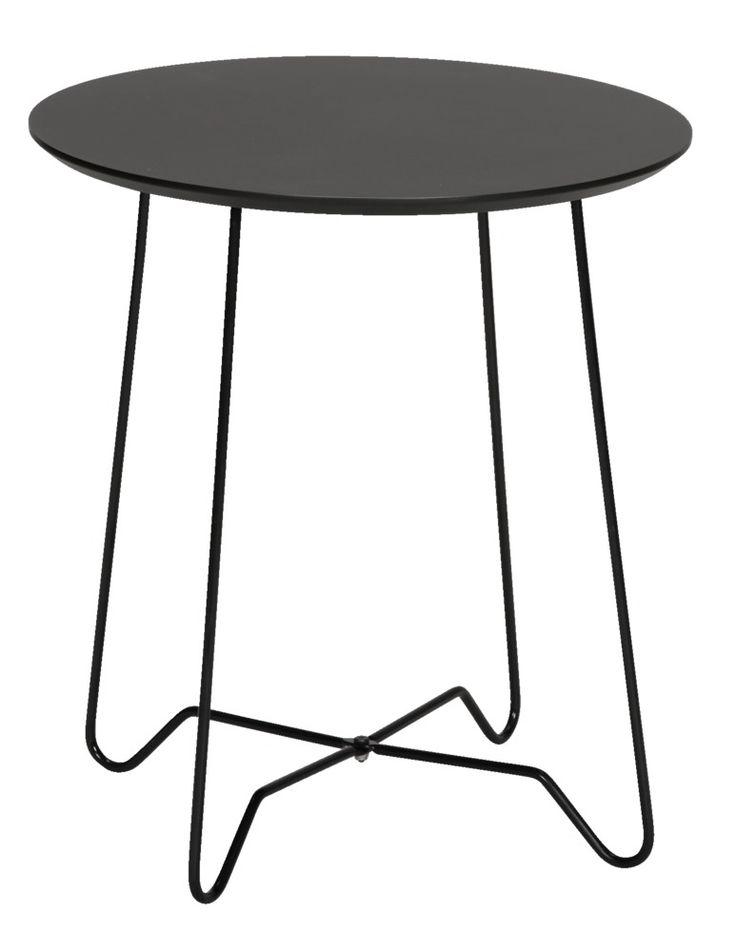 Bijzettafel Dubai: minimalistisch van formaat maar heel handig in gebruik!