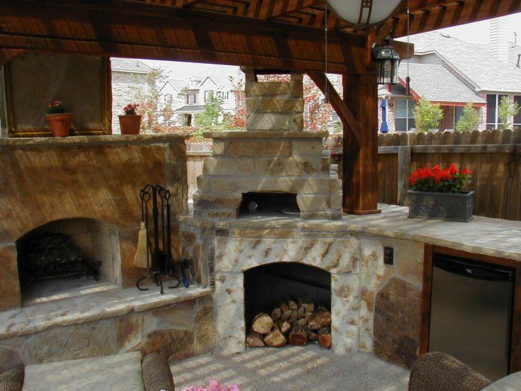 Fireplace Patio Nice