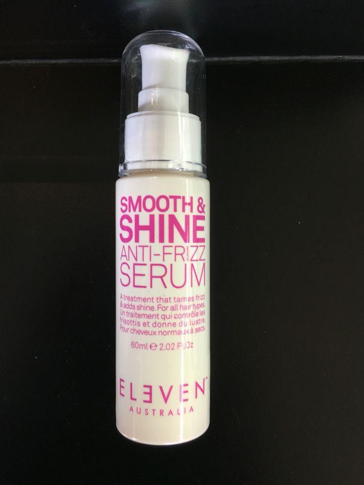 Smooth and Shine Anti Frizz Hair Serum Uptown Hair Studio Eleven Stockist