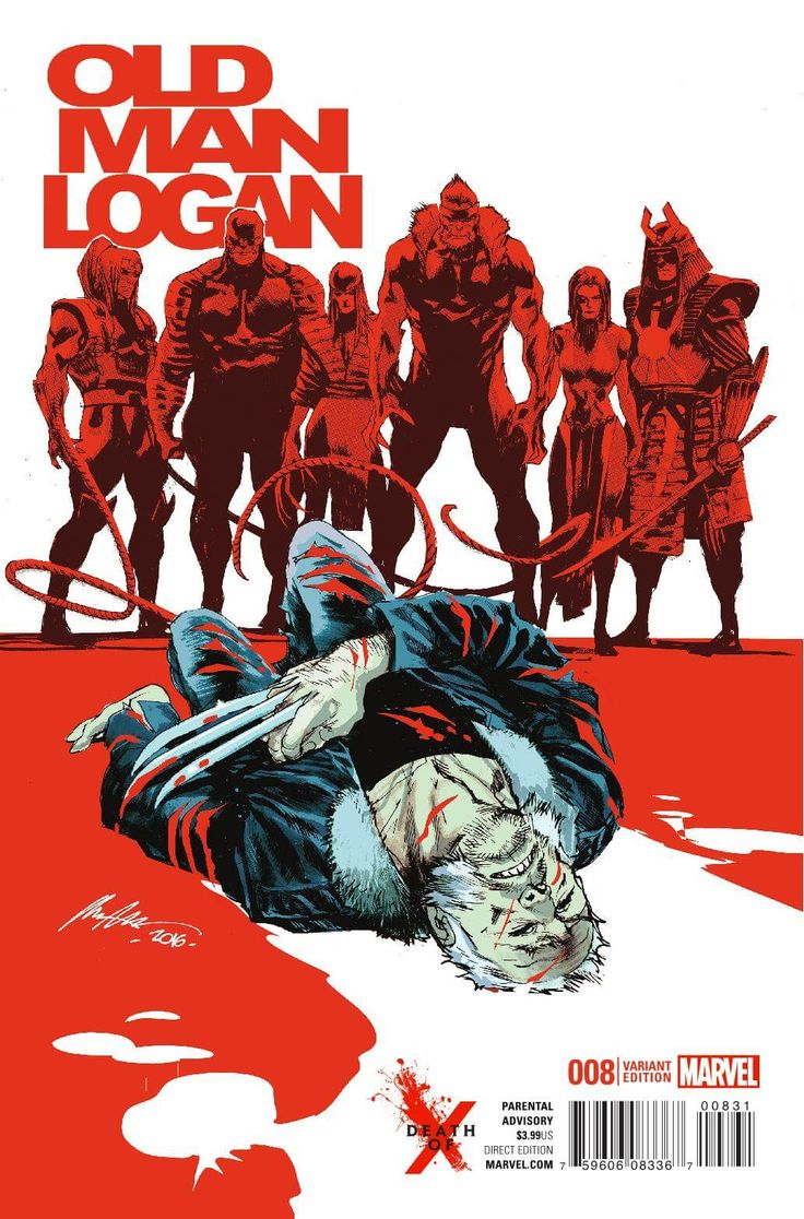 Preview: Old Man Logan #8, Story: Jeff Lemire Art: Andrea Sorrentino Cover…
