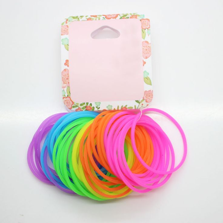 >> Click to Buy << 48 Pcs /set colourful ponytail holders large rubber bands for girl's rubber hair scrunhies hair accessories  #Affiliate