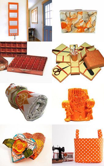 17 Best Images About Orange Home Decor And Art On