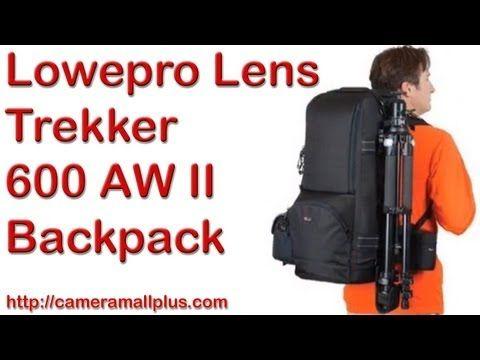 Lowepro Lens Trekker 600 AW II Backpack (Black)