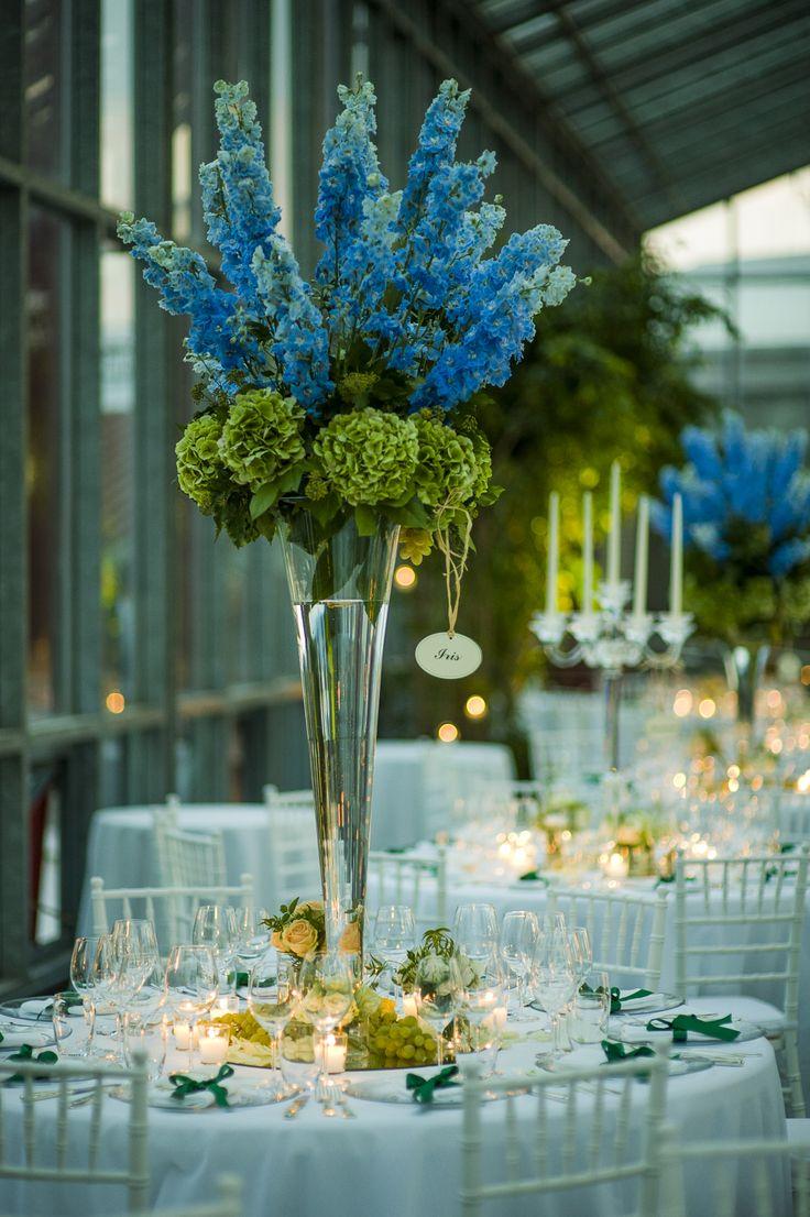 glasshouse table setting - La serra..