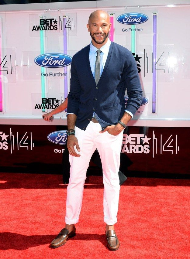 Fashion At The 2014 BET Awards-Stephen Bishop