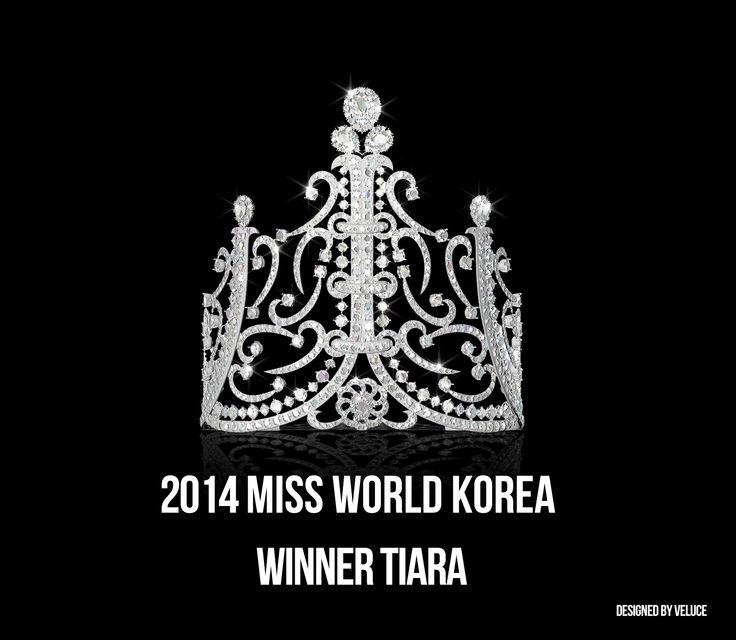 2014 미스 월드 코리아 위너 티아라 Designed by VELUCE #missworld #korea #tiara #veluce