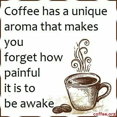 #Coffee quote of the day! Who agrees?