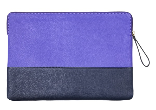 Purple clutch bag #GapLove
