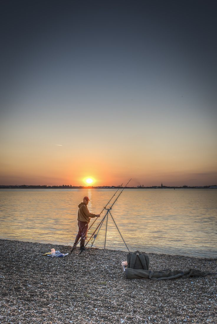Sunset Angler by Nigel Lomas on 500px