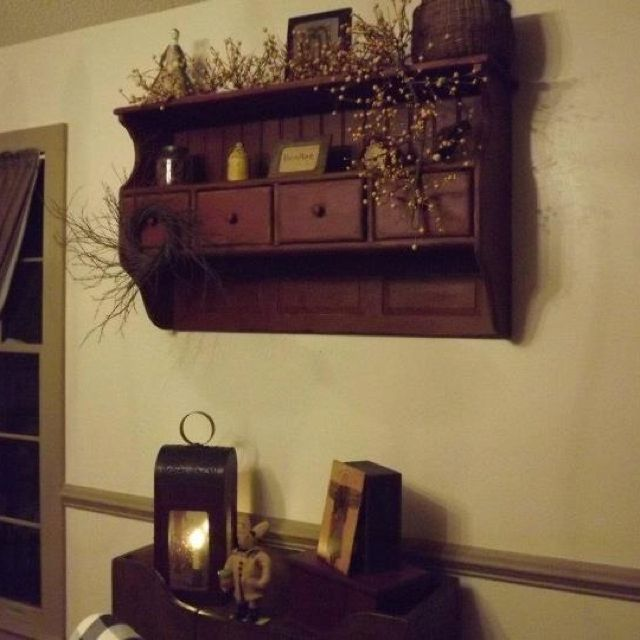 """Great shelf 3"""" mini wild twig birch wreath available on ebay: greenman525 and etsy: The Naturals"""