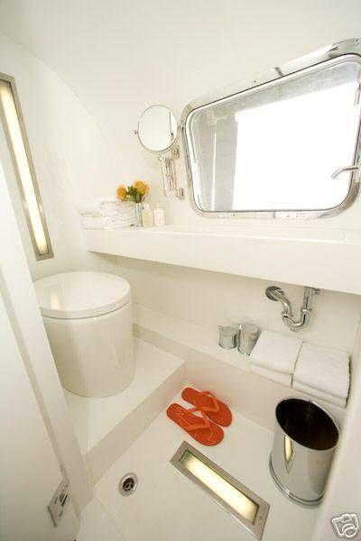 Amazing airstream bathroom