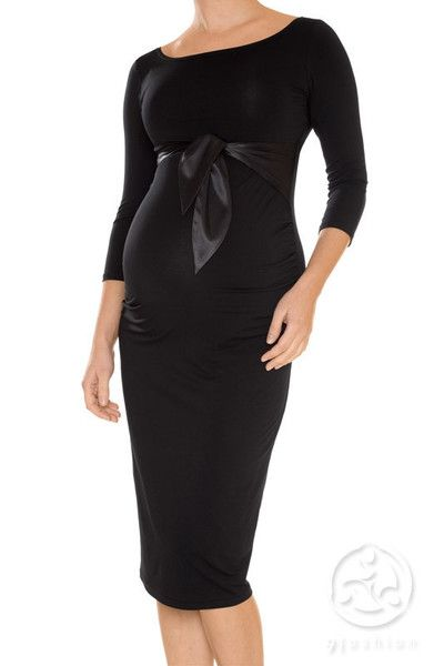 A Luna Favourite!! Shapely and classic maternity dress for all your special occasions.