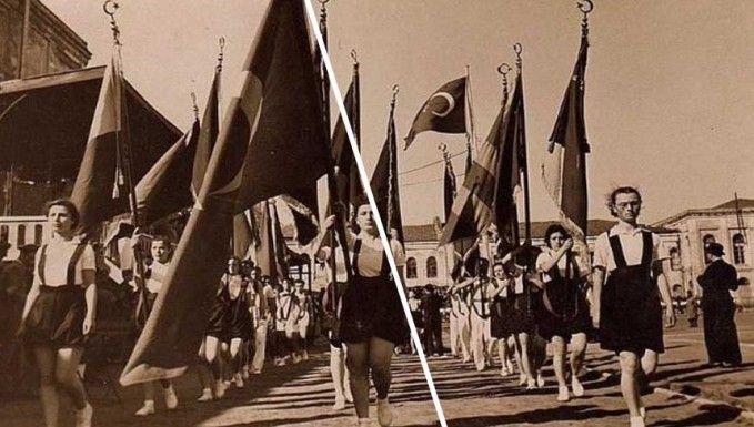 1938 yılında yurdun dört bir yanında kutlanan 19 Mayıs Atatürk'ü Anma Gençlik ve Spor Bayramı'nın arşivlerden çıkan görüntüleri.http://cdnvideo.sozcu.com.tr/transcoded_videos/8fb06a858473771efa13cae49a470194/8f25NDwLZFHm/dggm_1080.mp4Kaynak :http://tv.sozcu.com.tr/2016/haber/video/1938-19-mayisindan-goruntuler