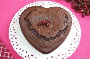 Ero alla ricerca di una torta al cioccolato e peperoncino che non fosse la classica torta dalla consistenza di una ciamnbella che poi avrei dovuto impreziosire con
