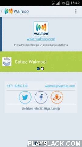 Walmoo Wallet  Android App - playslack.com , Put all your loyalty cards, membership cards, coupons, vouchers, keys or ID's in one profile and access them trough Mobile App or Web application. It's ultimate your ID's manager.- quick access to all your loyalty cards anytime and anywhere- easy to add new cards (both real card fast scan or manual enter)- simplicity and speed in action - one click and loyalty card is ready to use in the shopNOTE: Scanning from phone screen depends on individual…