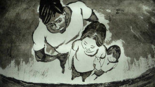 """身處台灣聯考制度下的一名學生,於某天早晨發現自己突然變身成一隻蟲,雙親都無法接受他的處境,將之關閉於房內餵養。改編自卡夫卡的小說《變形記》,以水墨動畫的手法重新詮釋。    Talking about a high school student under the joint entrance examination in Taiwan,one morning he found himself transformed into a insect . The parents are unable to accept his situation, and feed it in the room. This story is adapted from Kafka's """"The Metamorphosis"""" in Chinese Ink-painting animation.    watch 1080p here  https://youtu.be/jGKb6lxRnuc"""