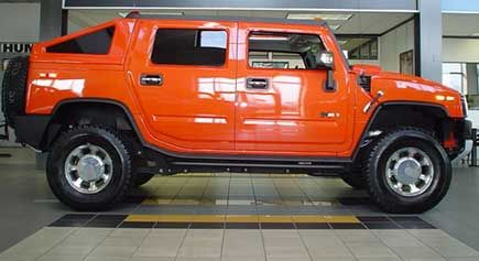 Check out the deal on 2005-2010 Hummer H2 SUT Rear Hard Slant Back Bed Cover at Hummer Parts Club