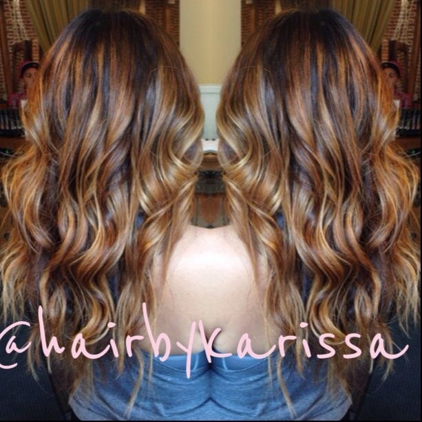 Balayage ombre highlights pinterest