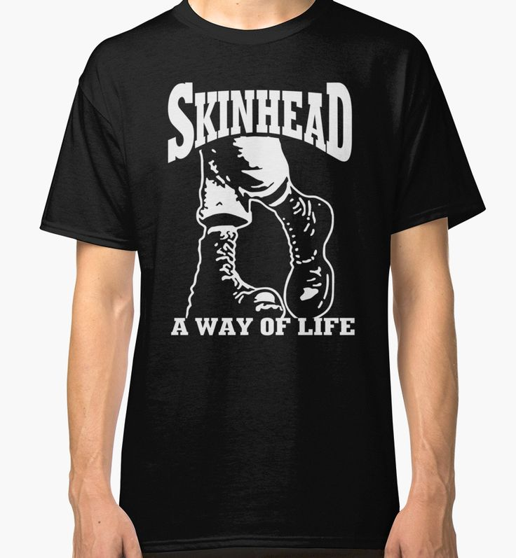 """SKINHEAD WAY OF LIFE"" Classic T-Shirts by girlgotsoul 