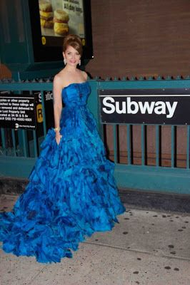 Times Square Gossip: JEAN SHAFIROFF IN FASHION AT NYC CARNEGIE HALL