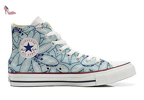 Make Your Shoes Converse Customized Adulte - chaussures coutume (produit artisanal) Indian Paisley size 33 EU LFd8zBXg1