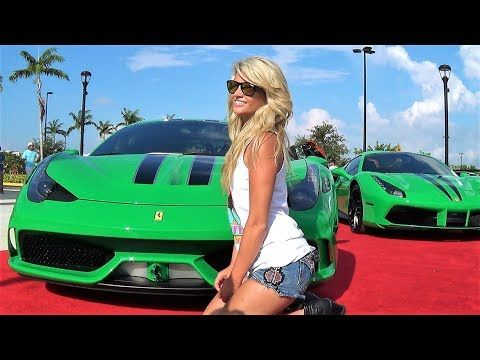 Lamborghini Ferrari McLaren Viper NONSTOP SUPERCAR TRAFFIC at Cars & Coffee Palm Beach