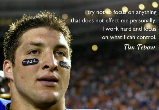 17 Best Images About Tim Tebow Quotes On Pinterest