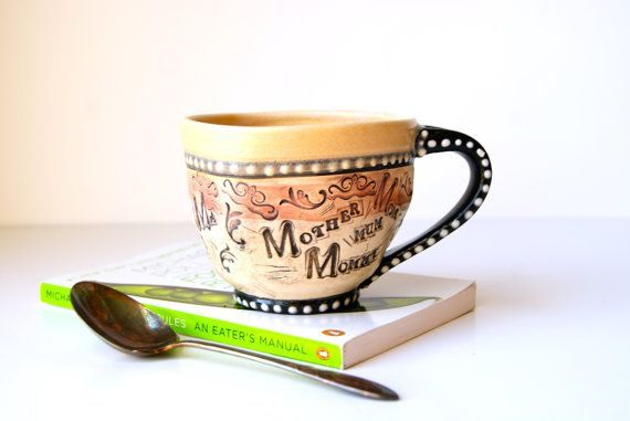 READY TO SHIP..... 12 Ounce Mug for Coffee or by RiverStonePottery