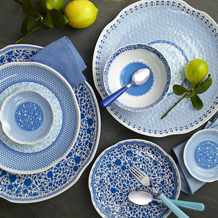 heritage 12pc melamine dinnerware set - Melamine Dinner Plates
