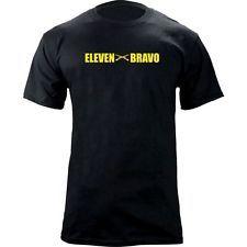 US Army Infantry Army MOS 11 Bravo Eleven Bravo Infantryman Veteran T-Shirt