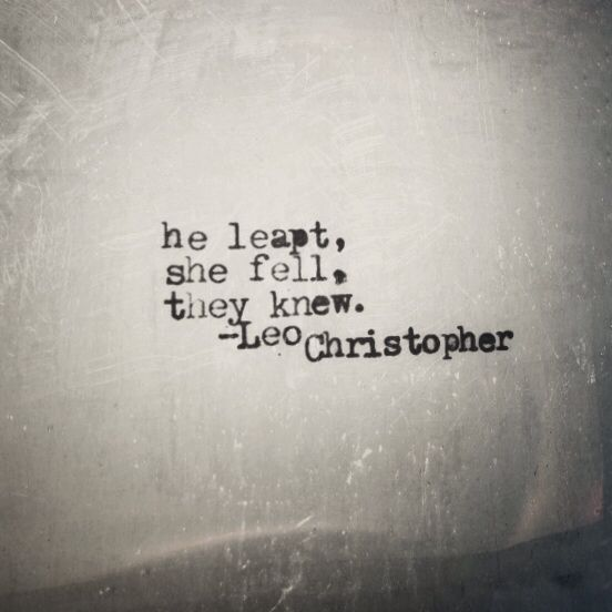 Six Word Love Story • Leo Christopher