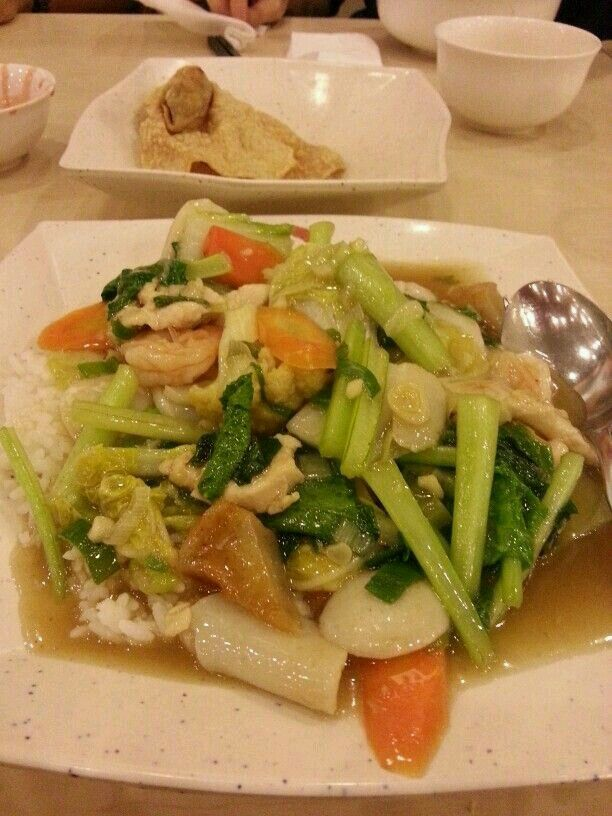 Capcay with Rice
