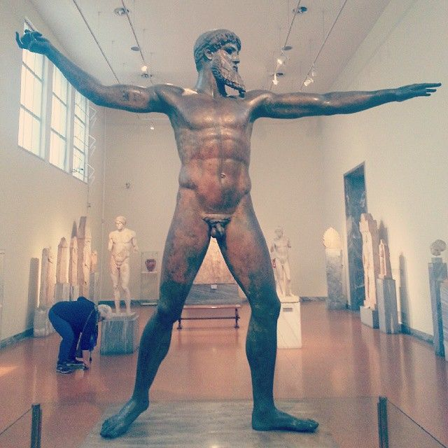""" #Poseidon "" at National Archaeological Museum of Athens Photo credits: @kay_gzz"