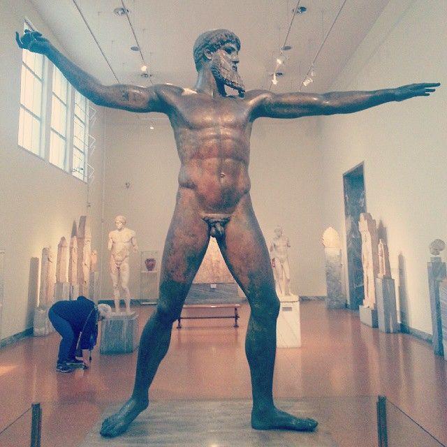 """ #Poseidon "" at National Archaeological Museum of Athens Photo credits: @kay_gzz"