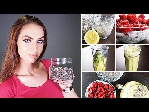Ako jesť chia semienka: Moje 3 chutné a zdravé recepty • Akadémia krásy