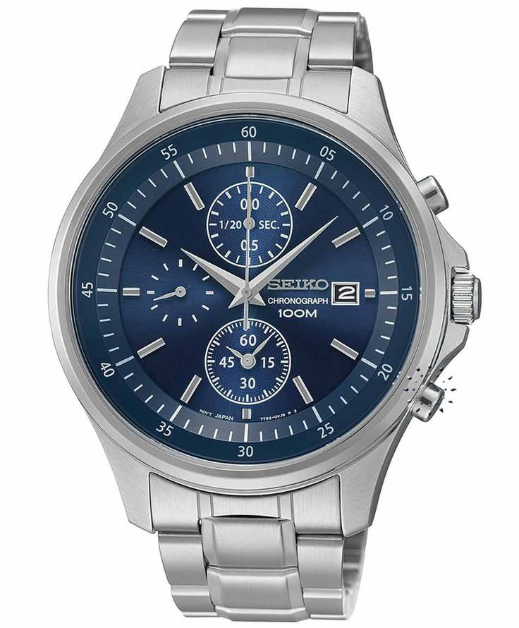 SEIKO Chronograph Stainless Steel Bracelet Η τιμή μας: 149€ http://www.oroloi.gr/product_info.php?products_id=33903