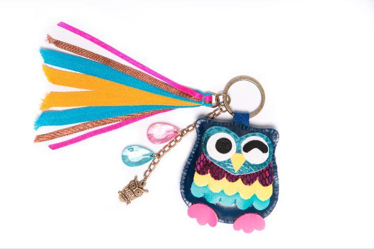 Great for school bags, Children Love them Owl keyring AU$14.95
