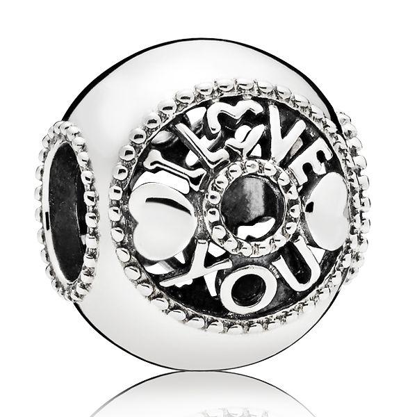 Pandora Women Silver Bead Charm - 796601 5BNH6tQOb3