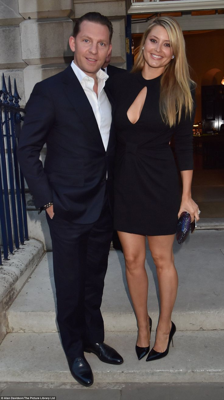 Former soap star Holly Valance was joined by her property developer husband Nick Candy...