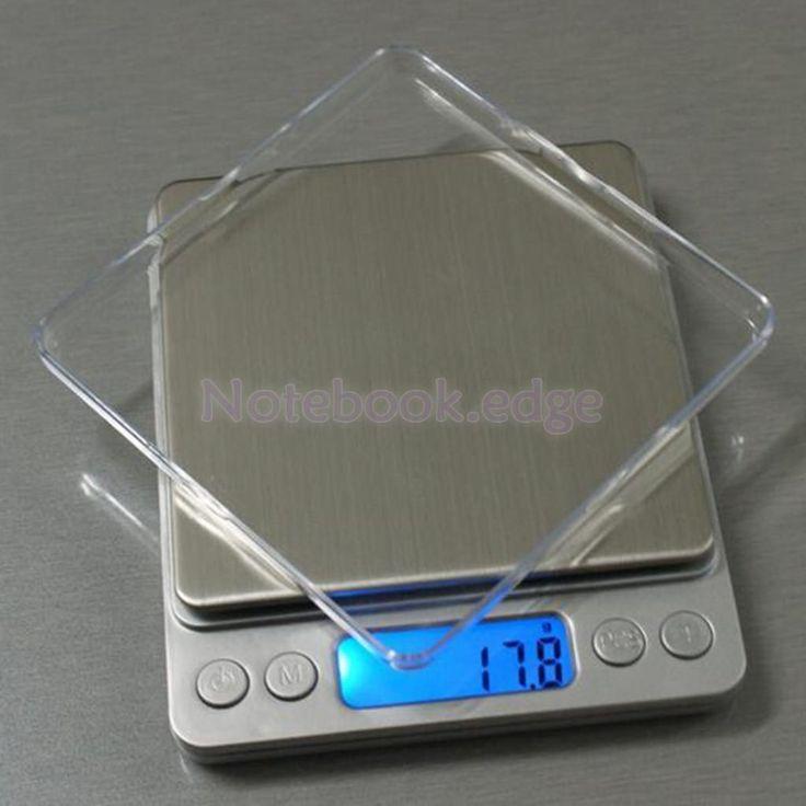 Digital Display Jewelry Gram Scale Kitchen Food Weight Balance 5 Sizes