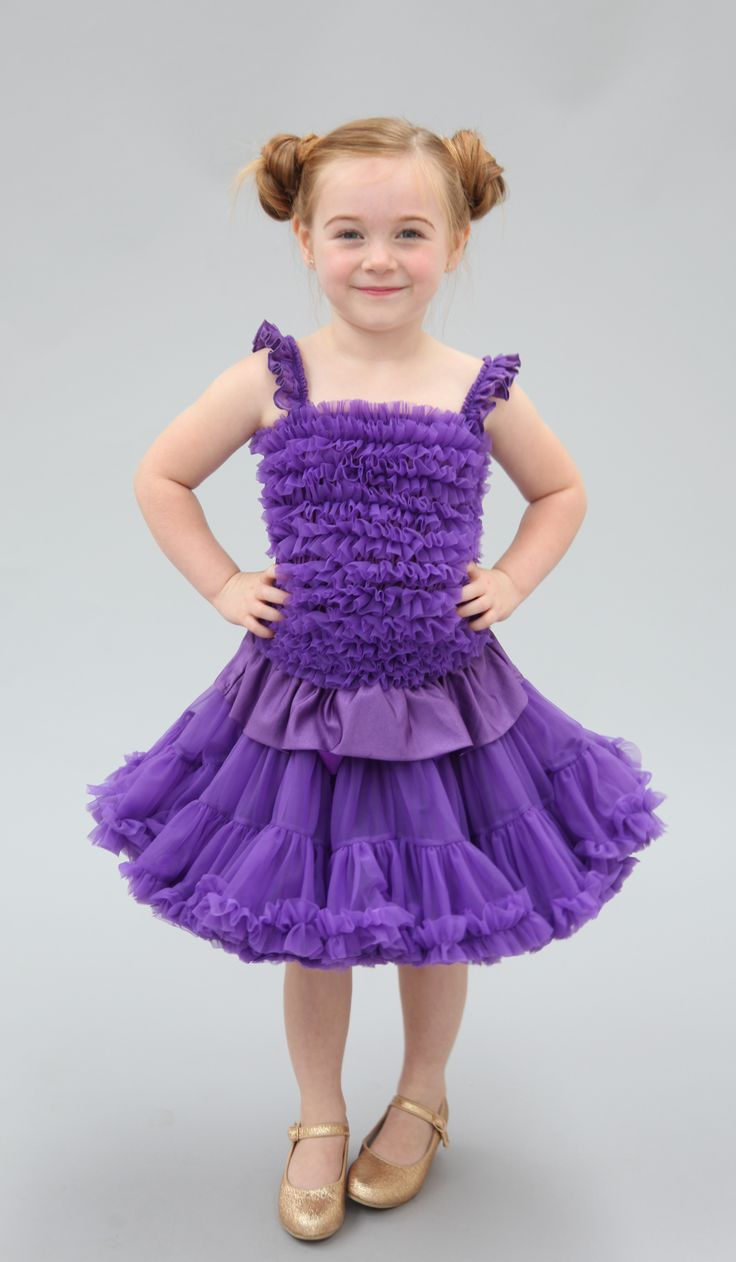 Purple Pansies have always been our favourite... it seemed quite fitting we named a tutu after them!