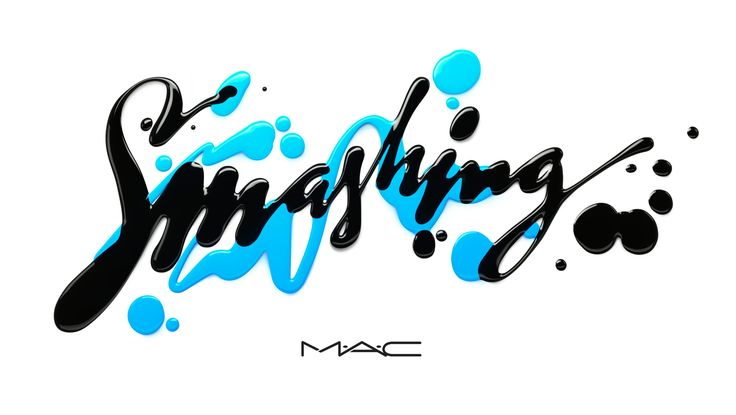 Letterings Series for MAC based on make up product. Client: MAC Cosmetics Year: 2016 Country: USA CGI: Leon Studio