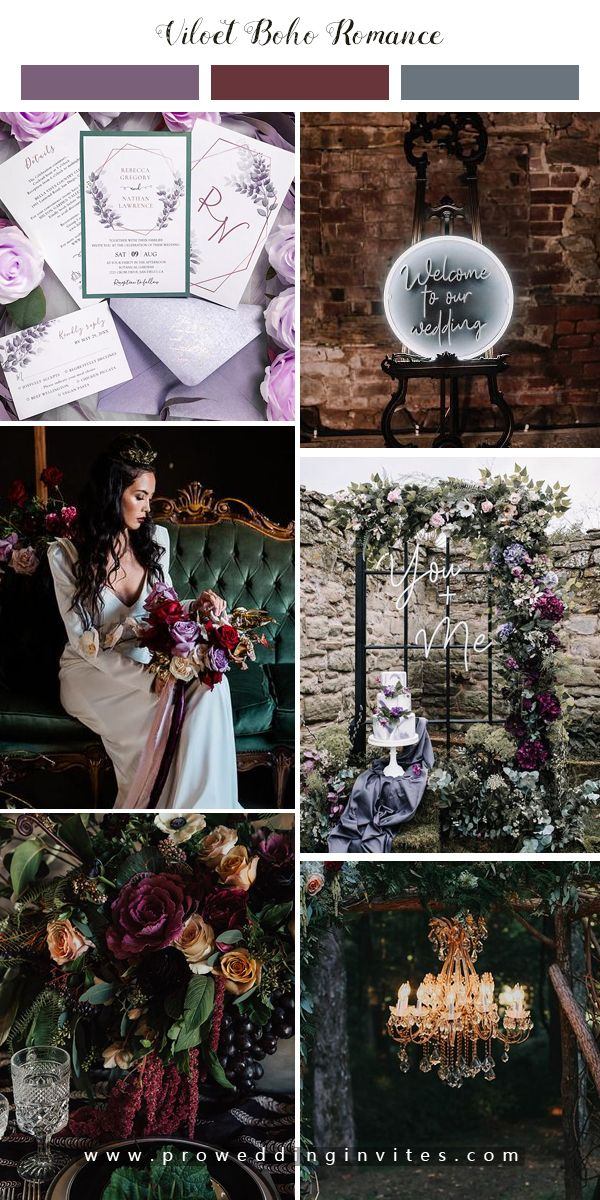 6 Halloween Themed Wedding To Get Your Guests Into The