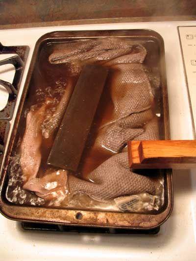 Чистка аппарата Старое масло камень | скандинавской Woodsmith