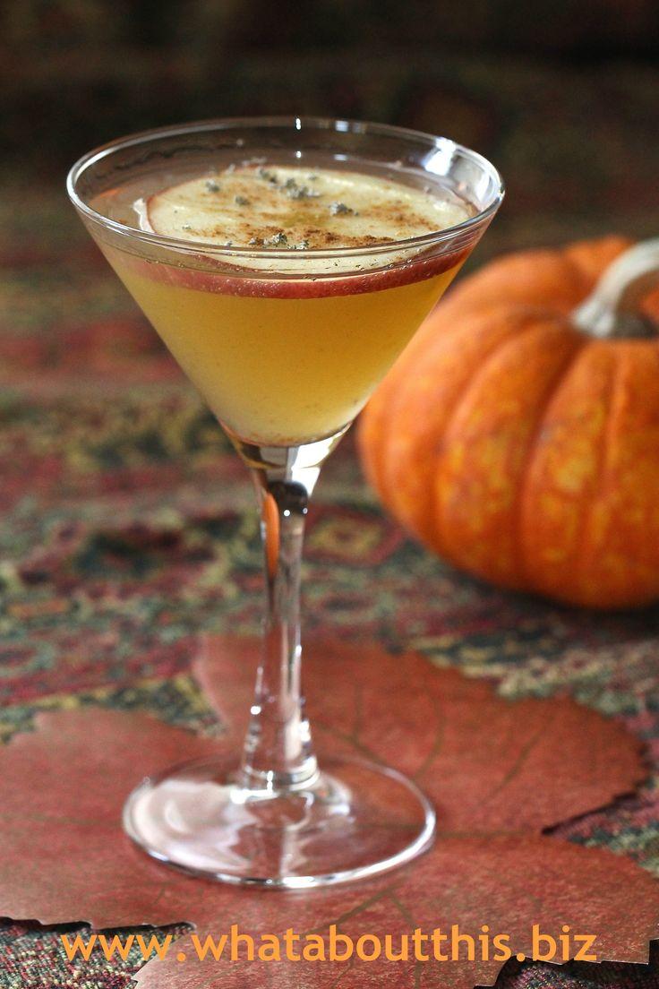 Slice of Fall Vodka Martini