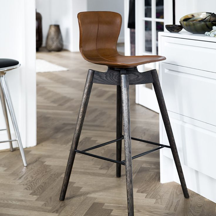 Shell Bar Stool - 74 cm