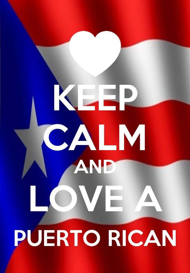 Keep Calm And Love A Puerto Rican  Puerto Rican Flag -4000