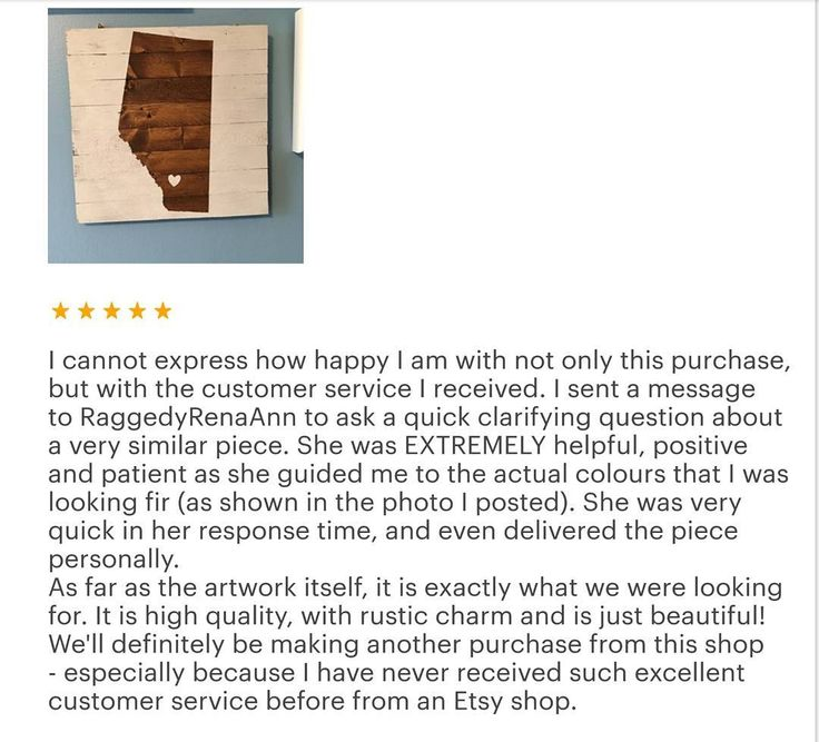Ohmigosh this makes my heart so warm and fuzzy! I have awesome clients and it is great to hear such kind words! I really try to provide a positive and personal experience in interacting with my business and myself so I love hearing back from happy customers! #kindwords #lovethis #lovely #reviews #bestcustomers #positivevibes #happy #spreadkindness #maker #yycmaker #yyc #Wheatland #curative #custom #creative #shoplocal #supportlocal #rustic #vintage #etsy #etsyyyc #art #unique…